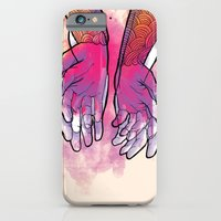 Dirty hands iPhone 6 Slim Case