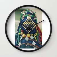 Dotted Tribe Wall Clock