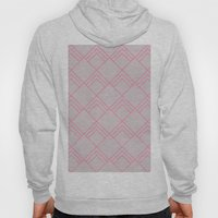 Diamond Art Deco; - Pink Hoody