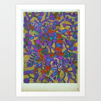 - summer mind - Art Print