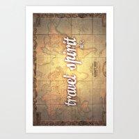 Travel Spirit #3 Art Print