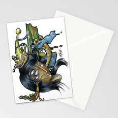 - Black Music Queen - Mr.Klevra Stationery Cards