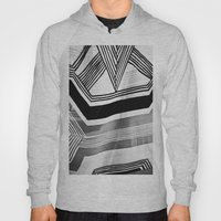 Modern Zebra Abstract Hoody