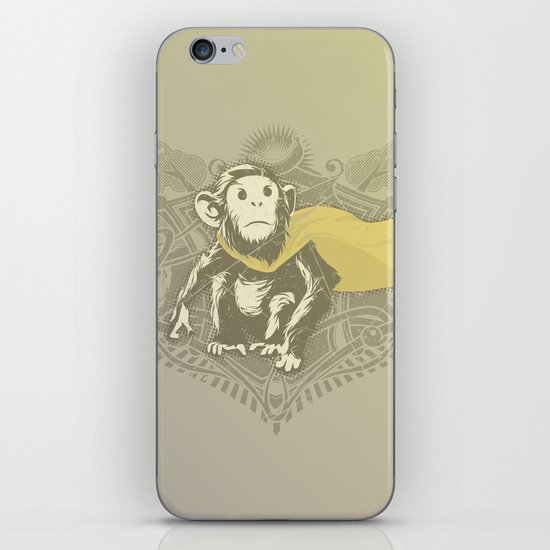Fearless Creature: Chimpy iPhone & iPod Skin