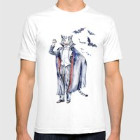 Count Catula Mens Fitted Tee White SMALL