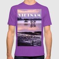 MEKONGDELTA - VIETNAM  Mens Fitted Tee Ultraviolet SMALL
