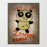 ZombiePanda Canvas Print