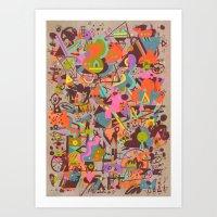Schema 14 Art Print