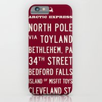 iPhone & iPod Case featuring Arctic Express Christmas by Michael Jon Watt