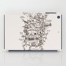 Howl's Moving Castle Plan iPad Case