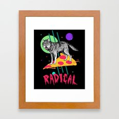 So Radical Framed Art Print