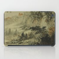 In Crossing The River iPad Case