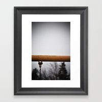 play. Framed Art Print