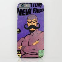 iPhone & iPod Case featuring phantom moustache by sr casetin