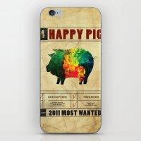 Happy Pig iPhone & iPod Skin