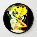 Daffodil Time Wall Clock