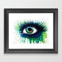 -The peacock- Framed Art Print