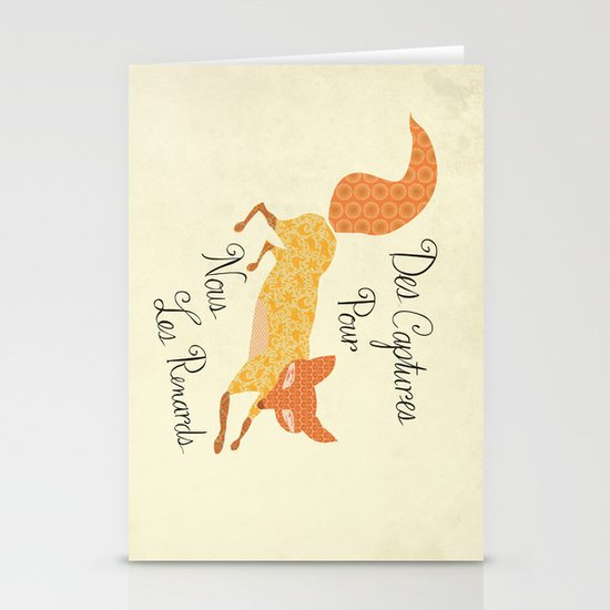 Catch for Us the Foxes Stationery Card