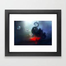 Faithful Mirror Framed Art Print