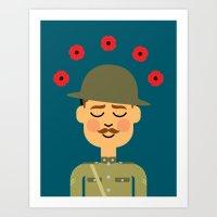 Remembrance Day Art Print