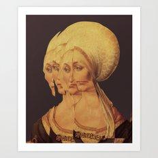 Frau Dürer 202 Art Print