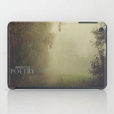 Unwritten Poetry iPad Case