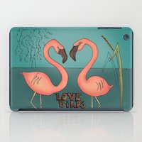 Love birds iPad Case