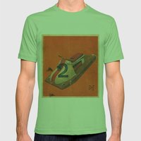 Practic, 71 Mens Fitted Tee Grass SMALL