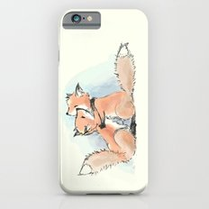 foxes in love iPhone 6 Slim Case