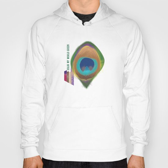 Color My World Green Hoody