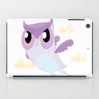 Purple Owl iPad Case