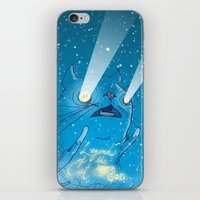 Legend Of The Cat God iPhone & iPod Skin