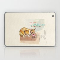 Illustration Friday- Dessert Laptop & iPad Skin