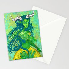 Taurus: The Quiet Achiever (Apr 21 - May 21) - ORIGINAL GOUACHE Stationery Cards