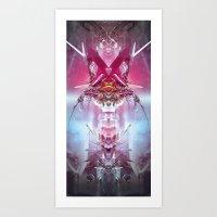 Spinal Tyrant Art Print