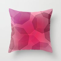 Octa-bokeh. Throw Pillow