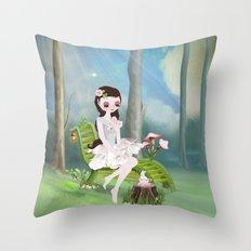 Sarah BelleFleur Throw Pillow