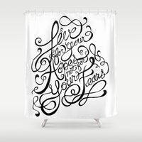 Live for Your Hopes Shower Curtain