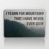 Mountain Yearning  Laptop & iPad Skin