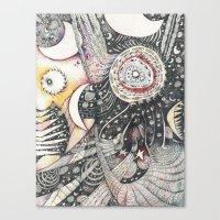 The Silver Cord Canvas Print