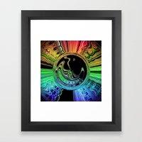 Lunar Daydream Framed Art Print