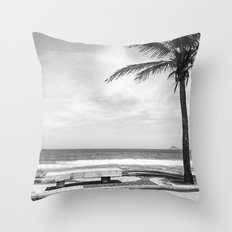 RIO B&W Throw Pillow
