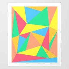 SORBET SONNETS Art Print