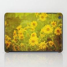 Flowers of the Field iPad Case