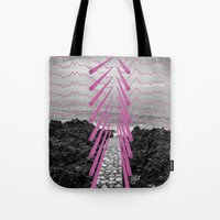 Surreal Beachscape Tote Bag