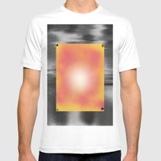 Bigradé Mens Fitted Tee SMALL White