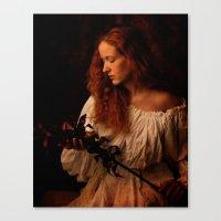 A peasant woman Canvas Print