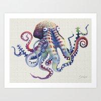 Octopus I Art Print