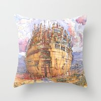 La Citta' Sferica Throw Pillow