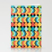 Retro Color Play Stationery Cards